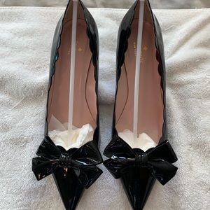 kate spade maxine black patent leather